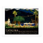 Catalina by Otis Shepard, c. 1935.  Postcard