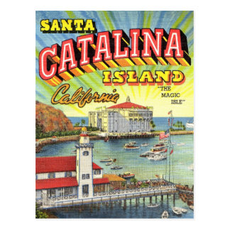 Catalina Island post card