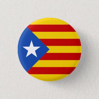Catalonia Estrellada Flag Button