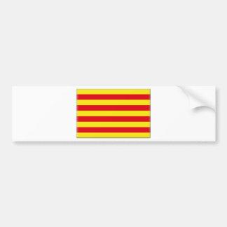 Catalonia (Spain)  Flag Bumper Sticker
