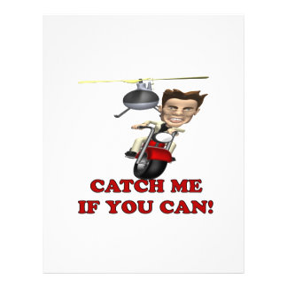 Catch Me If You Can Full Color Flyer