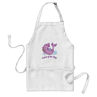 Catch Of Day Standard Apron