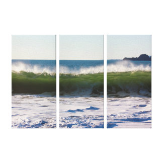 Catching a Wave in San Francisco Stretched Canvas Print