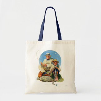 Catching the Big One Budget Tote Bag