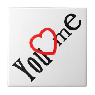 Category LOVE - varieties Small Square Tile