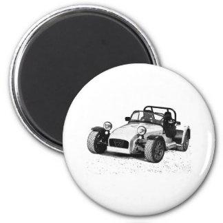 Caterham 07 6 cm round magnet