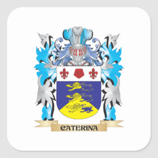 Caterina Coat of Arms - Family Crest Stickers