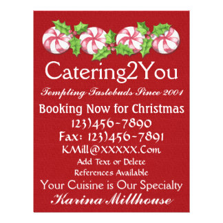 Catering Business Flyer - SRF