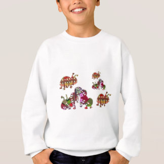 Caterpillar and Ladybug Lady Bug Graphic Sweatshirt