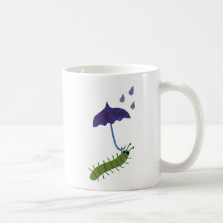 Caterpillar with Umbrella Coffee Mug
