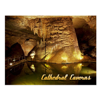 Cathedral Caverns State Park, Alabama Postcard