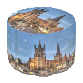 Cathedral Notre Dame of Lausanne, Switzerland, HDR Pouf