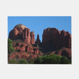 Cathedral Rock in Sedona Arizona Doormat