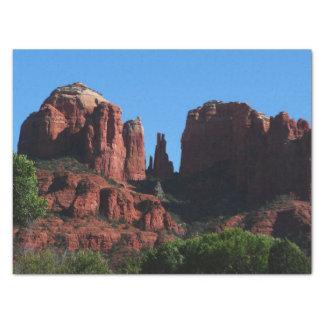 Cathedral Rock in Sedona Arizona Tissue Paper