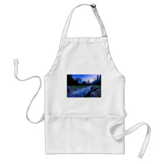 Cathedral Rocks from El Capitan Meadows Standard Apron