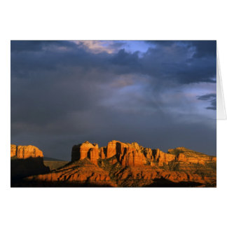Cathedral Rocks in Sedona Arizona Greeting Card