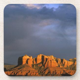 Cathedral Rocks in Sedona Arizona Drink Coaster
