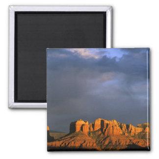 Cathedral Rocks in Sedona Arizona Fridge Magnet