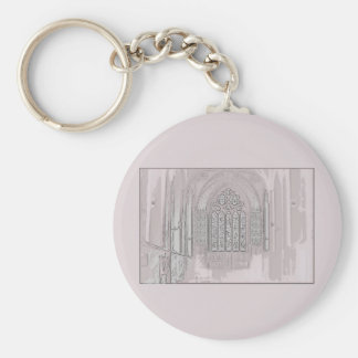 Cathedral Windows Key Chain