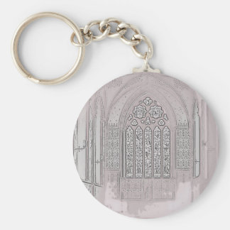 Cathedral Windows Keychains