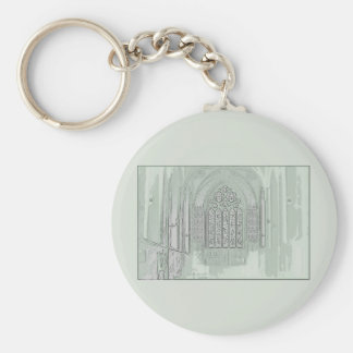 Cathedral Windows Keychain