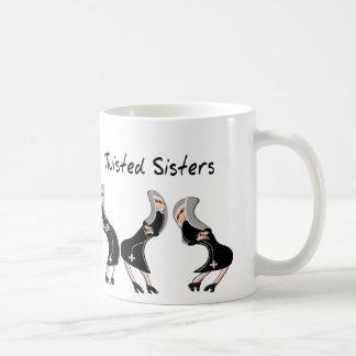 "Catholic Nun Gifts ""Twisted Sisters"" Design Coffee Mug"