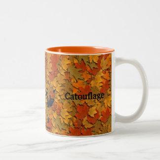 Catouflage! Two-Tone Mug