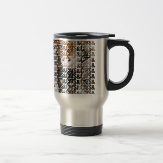 Cats and Cats and Stainless Steel Travel Mug