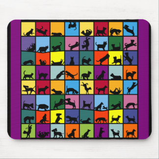 Cats and Dogs Mouse Pad