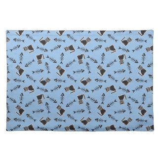 Cats and Fish Bones Placemat