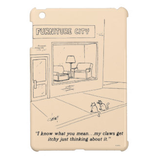 Cats Clawing Furniture iPad Mini Case