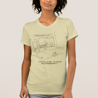 Cats Clawing Furniture T-Shirt