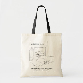 Cats Clawing Furniture Tote Bag