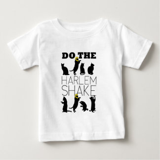 Cats doing the Harlem Shake Baby T-Shirt
