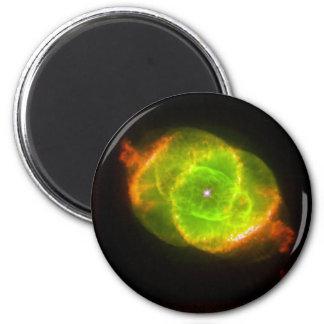 CAT'S EYE NEBULA (outer space design) ~ Fridge Magnets
