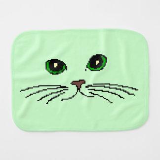 Cat's Face Burp Cloth