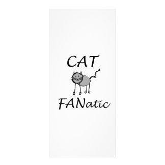 Cats fanatic rack card template