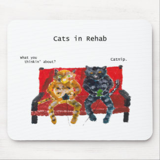 Cats in Rehab videogames Mouse Pad
