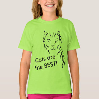 Cats Kitty Kitties are the BEST Cat Gifts T-Shirt