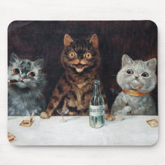 Cats, Louis Wain Mouse Pad