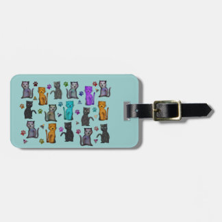 Cats Meow Luggage Tag