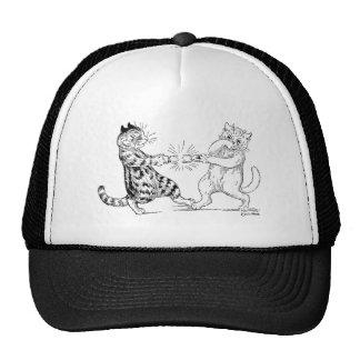Cats Pulling Cracker Cap