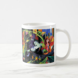 Cattle by Franz Marc, Vintage Abstract Fine Art Coffee Mug
