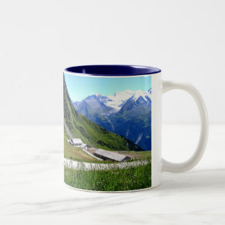 Cattle farm La Chaux Two-Tone Coffee Mug