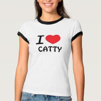 CATTY GIRL - T / White T-Shirt