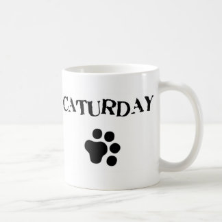 Caturday Cute Cat Mug