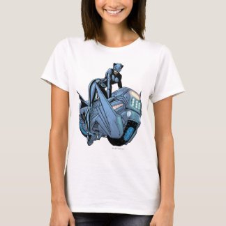 Catwoman and bike T-Shirt
