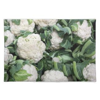 Cauliflower cloth placemat