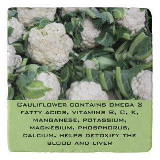 Cauliflower trivet