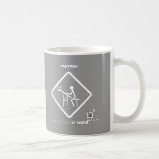 Caution Architect at Work Coffee Mug